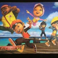 Boboiboy Puzzle Kayu Mainan edukasi Yaya Ying Fang Gopal Ochobot