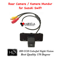 Kamera Mundur Parkir / Rear Camera Parking HD CCD OEM For Suzuki Swift