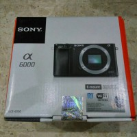 Jual Kamera Sony Alpha A6000 Body Only Baru Garansi Resmi BNIB Murah