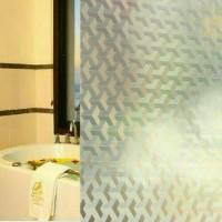 sticker kaca/kaca film motif