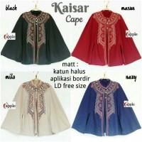 Kaisar cape blouse