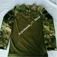 Harga combat shirt loreng multicam kemeja kaos tactical blackhawk | Pembandingharga.com