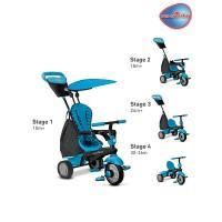 Smart Trike Glow Touch Steering 4 In 1 Trike Blue