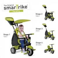 Smart Trike Glow Touch Steering 4 In 1 Trike Green