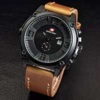 Jual BEST SELLER!! Jam Tangan Pria Swiss Army Ultrasize Leather (5 warna) Murah