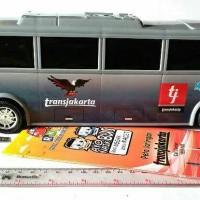 Mainan mobil bus transjakarta busway bbg