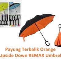 Jual Payung Terbalik / Upside Down REMAX Umbrella / AIMI Murah
