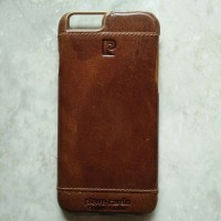 Premium casing Iphone 6/6s pierre cardin case leather (Tanpa Box)