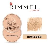 Jual Rimmel Stay Matte Pressed Powder Transparent Transparan Translucent Murah