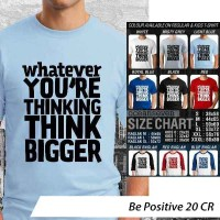 [DISKON] Kaos Be Positive 20 CR - Distro Ocean Seven