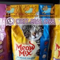 MEOW MIX SEAFOOD MEDLEY 1.42KG - Makanan Kucing / Dry Cat Food
