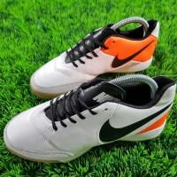 Sepatu Futsal Nike TiempoX Proximo II IC - White Orange
