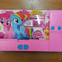 Jual Kotak Tempat Pensil Jumbo Laci Kostak Koker 10in1 My Little Pony Murah