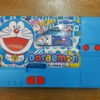 Jual Kotak Tempat Pensil Jumbo Laci Kostak Koker 10in1 Doraemon Murah