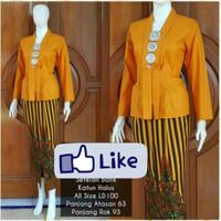 Setelan Batik Lurik Gunungan / Setelan Batik Cewek / Kebaya Batik #ANG