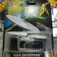 Hot Wheels Retro Star Trek 50 USS Enterprise NCC-1701
