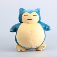 143 Boneka Snorlax 30cm Boneka Pokemon