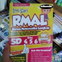 Intisari RMAL (Rumus Matematika Lengkap) SD Kelas 4, 5, 6