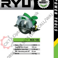 TEKIRO RYU CIRCULAR SAW (POTONG KAYU) 7 INCH 1,200 W (RCS 185)