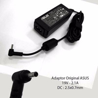 Adaptor/Charger Original Laptop Asus 19V 2.1A colokan kecil
