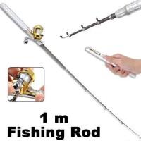 Fish Rod Pen Pocket Fishing / Alat Pancing Portable