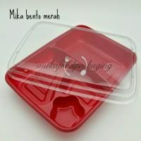 Mika bento/kotak bento merah