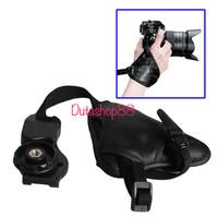 hand grip kamera dslr / leather camera grip