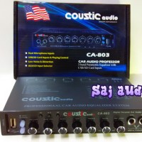 Parametric Equalizer/ Pream COUSTIC Audio CA-803 Mixer Karaoke Ready