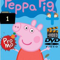 Video Kartun Edukasi Anak Peppa Pig 55 Episode Season 1 DVD