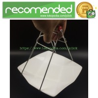 Hot Bowl Plastic Handler Device / Alat Pengangkat Mangkuk Panas - Red