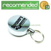 High Resilience Stretching Rope Anti Thief Key Chain / Gantungan Kunci