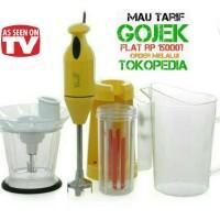Jual TOKEBI Plus Blender Tangan - Kuning Murah