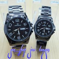 SPESIAL jam couple montblanc premium !! harga sepasang (casio guess fo