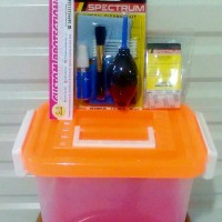 PAKET 8in1 DRY BOX CAMERA dan OPTICAL CLEANING KIT + SILICA GEL