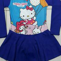 [BR] Termurah Baju renang muslim / muslimah anak cewek SD Hello Kitty