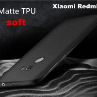 Sandstone Frosted TPU Xiaomi Redmi 4 Silicone SoftCase Casing Case
