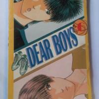 DEAR BOYS VOL 6 - HIROKI YAGAMI (KOMIK CABUTAN BARU/SEGEL)