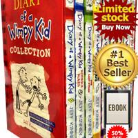 Ebook Buku Novel Diary Of A Wimpy Kid Set 10 Judul Bahasa Inggris