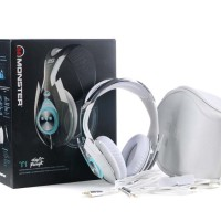 New Tron T1 Headphone Gaming, Monster Headphone Murah