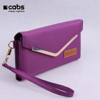 Cabs Pocket Rose - Purple (Dompet Wanita HPO , Dompet Kartu Serbaguna)
