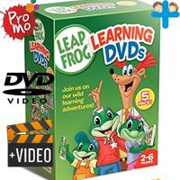 Video Kartun Edukasi Anak LeapFrog Learning Series DVD