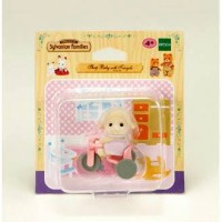 Sylvanian Families RARE - Sheep Baby with Tricycle
