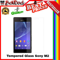 Tempered Glass 9H Sony Experia Xperia M2 / Dual | Sony Anti Gores Kaca