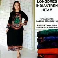 daster longdress gamis gaun batik baju hamil busui jumbo hijab muslim