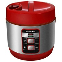 [ Yong Ma ] Magic Com / Rice Cooker Yongma Mc 3480 - 2 L - Red