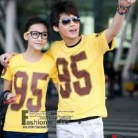 (Sepasang) CP BASEBALL 95 Kaos Oblong Couple