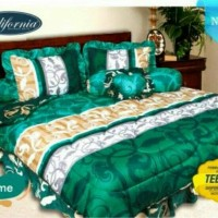 BED COVER SET CALIFORNIA / MY LOVE KING 180X200 ESME / BEDCOVER SET