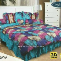 BED COVER SET CALIFORNIA / MY LOVE KING 180 X 200 NARAYA/ BEDCOVER SET