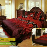 BEDCOVER SET CALIFORNIA / MY LOVE KING 180 X 200 MIRAH / BEDCOVER SET