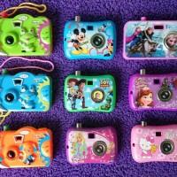 kamera karakter - camera disney - mainan kamera anak